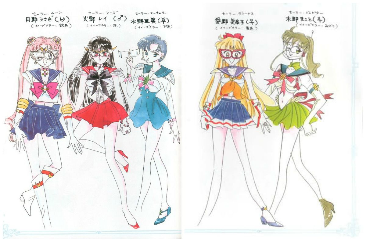 Sailor Moon torna in tv 10 cose che forse non sai sulla serie anni 90  Tvzap