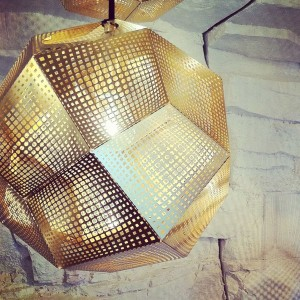 The wall effects with light – by Tom Dixon @ Most, via Olona