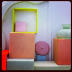 Nicest colour + textures palette - Ossimori by StudioPepe @ Garage Milano, via Maiocchi