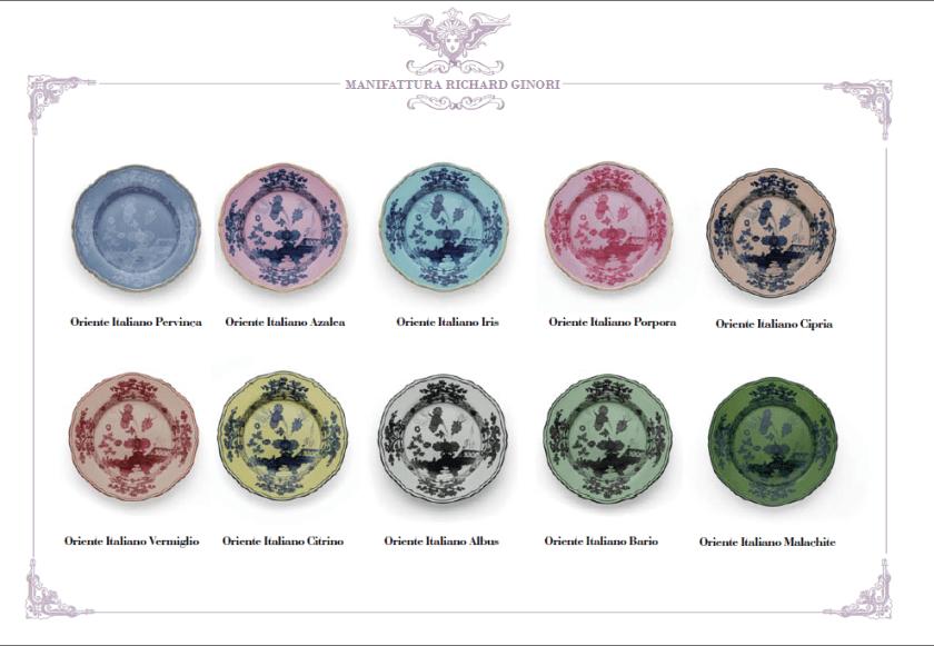 La nuova collezione Oriente Italiano di Richard Ginori