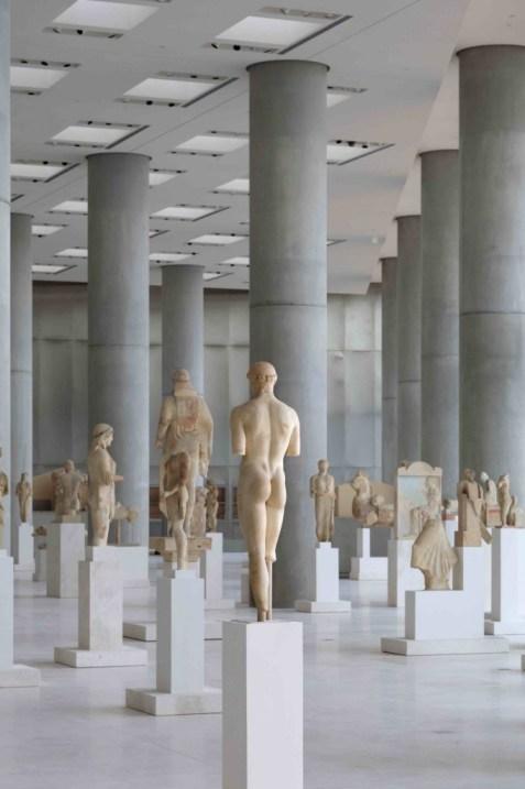 Il museo dell'Acropoli, progetto di Bernard Tschumi, foto di Nikos Daniilidis