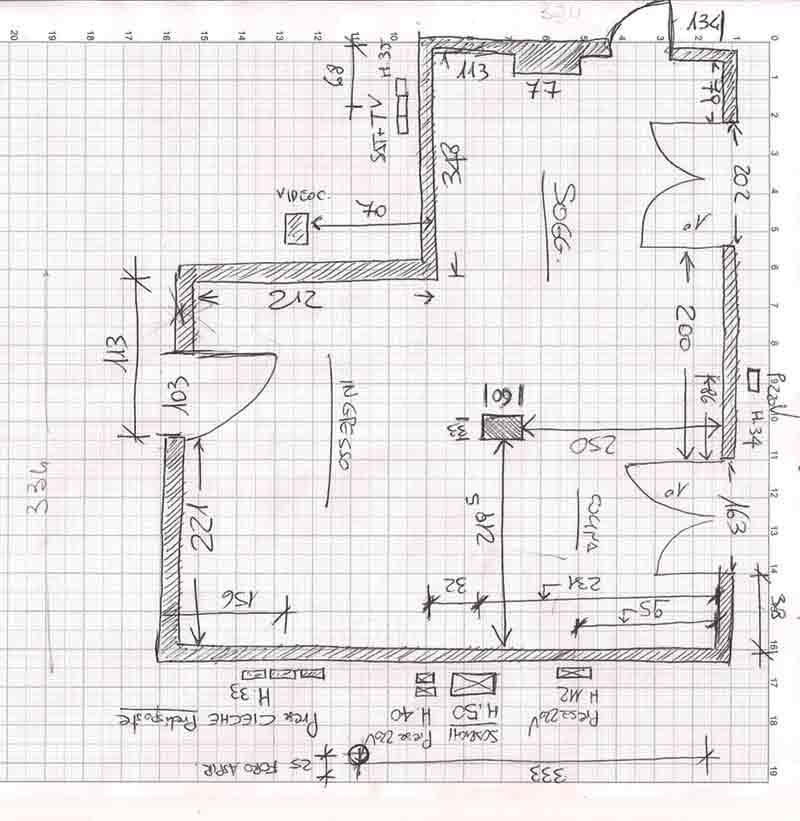 Zona giorno impossibile  Il progetto in una stanza  Blog  CasaDesign