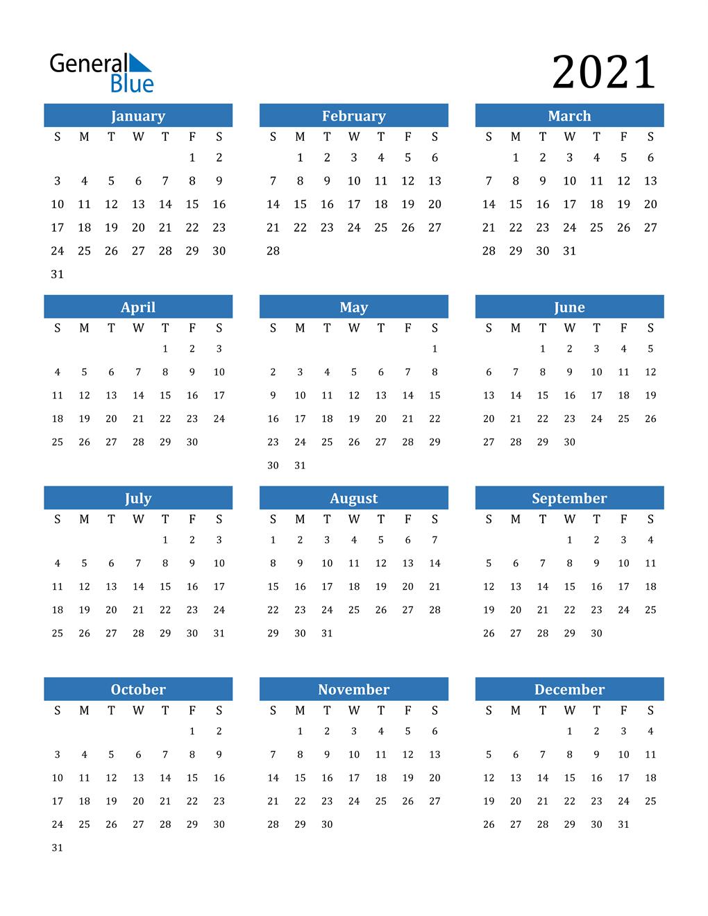 When you purchase through l. 2021 Calendar (PDF, Word, Excel)