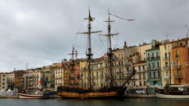 Visiter centre ville de Sète