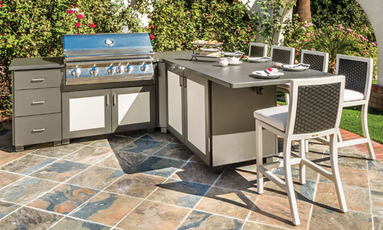outdoor kitchens cabinets gensun modanō predesigned kitchen islands