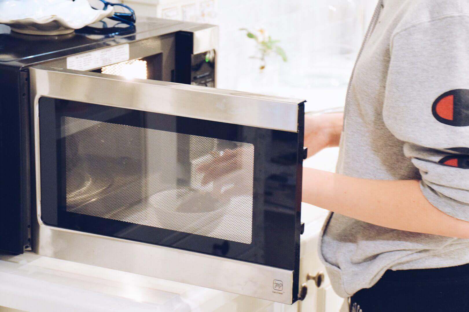 an rv microwave convection oven