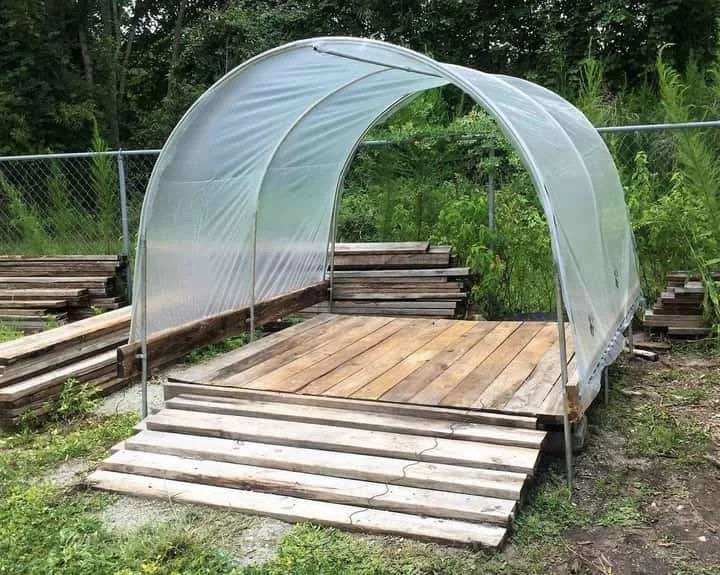 Diy Carport Canopy Learn How To Build A Carport Tent In An