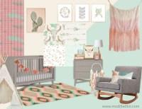 Boho Nursery Decor | Bohemian Nursery Bedding | Bohemian ...