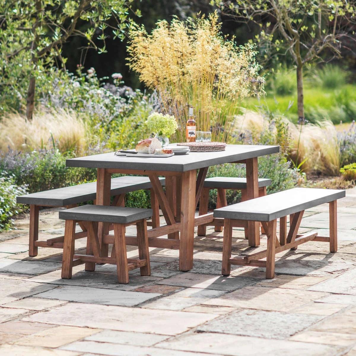 outdoor furniture farmhouse table