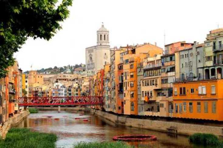 Girona: grupo pequeño de paseo