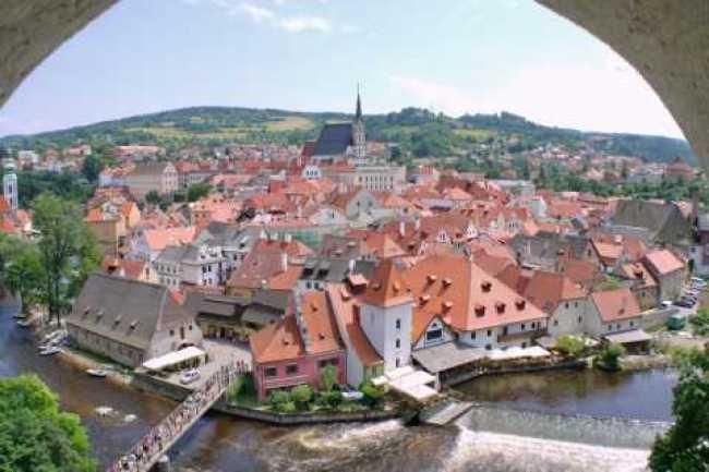 Cesky Krumlov: Private 2-Hour City Walking Tour