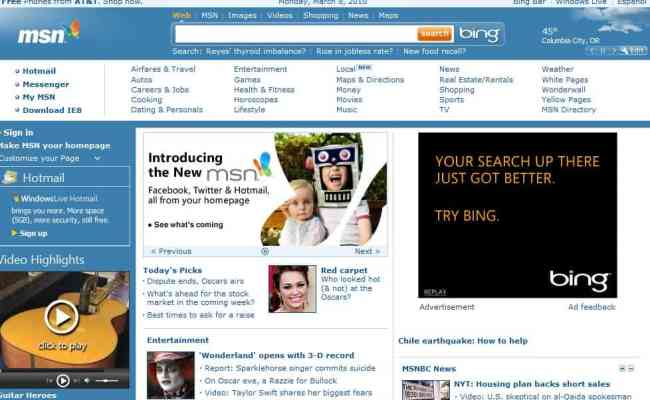 How To Access The Old Msn Website Ghacks Tech News