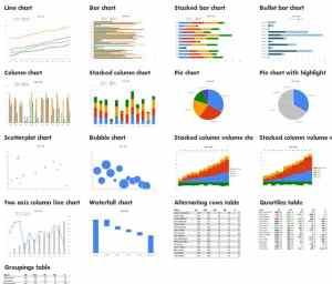 PowerPoint, Excel Chart Data Templates  gHacks Tech News