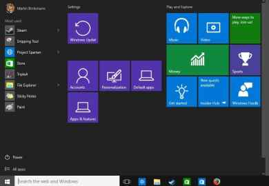 Touch Screen Settings In Windows 10