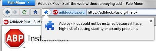 pale moon adblock plus