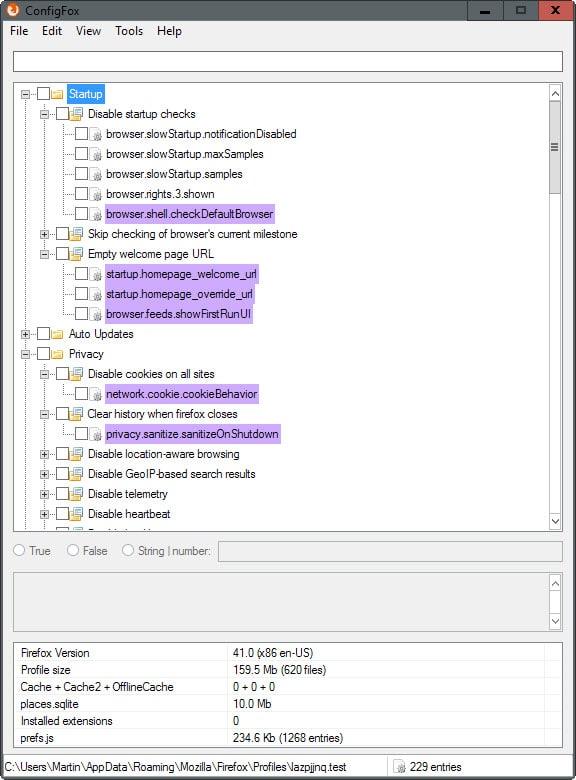 configfox 1.4