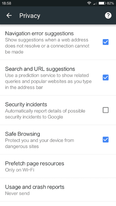 chrome safe browsing