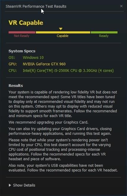 Cara mengecek PC untuk Gaming dengan SteamVR