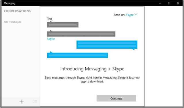 messaging+skype