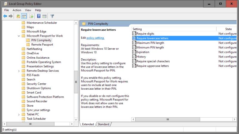 Cara Setting Pin di Windows 10 untuk authentication