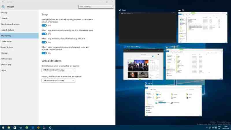 Cara Mengelola fungsi Snap di Windows 10