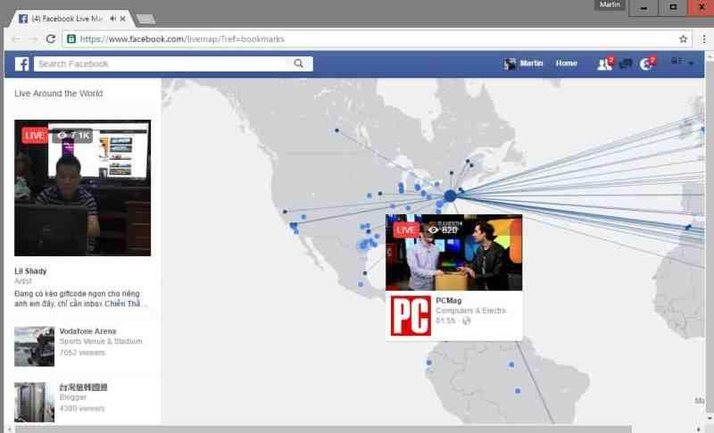 Cara mencari tahu siapa yang live streaming di Facebook