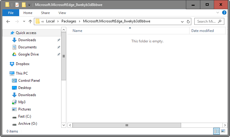 Cara mengatasi Microsoft Edge stuck