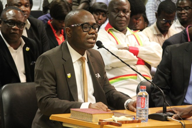 Image result for Kwesi Nyantakyi at Commission of Inquiry