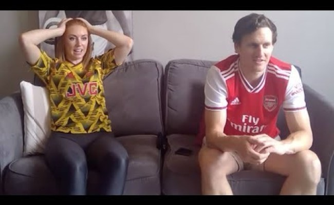 Arsenal Fans React To A Dramatic Last Minute Winner