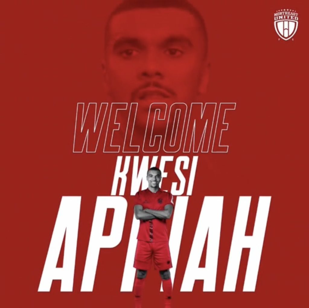 Kwesi Appiah delighted to join Indian Super League club NorthEast United - Ghana Latest Football News. Live Scores. Results - GHANAsoccernet