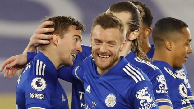 Leicester win to move closer to Champions League - Ghana ...