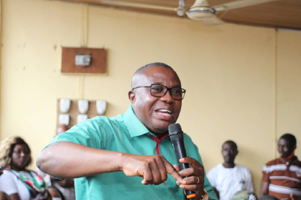 NDC Chairman justifies timing of promise to absorb full fees