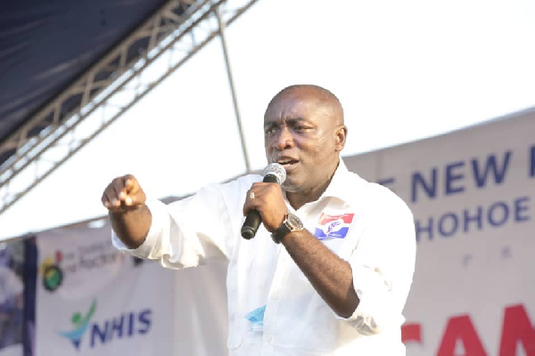 Election 2020: Kwabena Agyepong campaigns for Akufo-Addo, Amewu in Hohoe