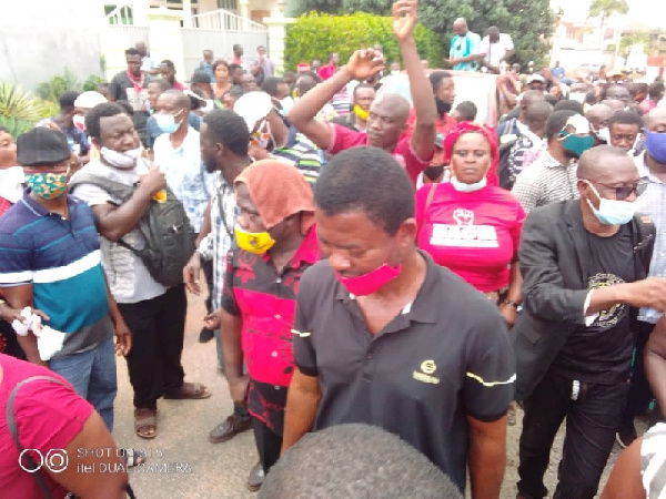 Menzgold customers call for NAM1's arrest over another attempt to scam them