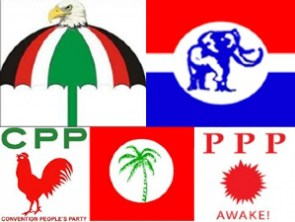 Eight political parties are vying for a parliamentary seat in the Bono Region
