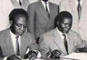 Osagyefo Kwame Nkrumah and Ahmed Sékou Touré