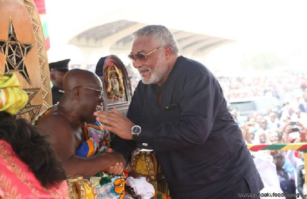 Rawlings and I had tempestuous relationship but we finally saw value in each other – Akufo-Addo