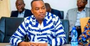 Democratic Republic of Congo Health Minister,  Eteni Longondo