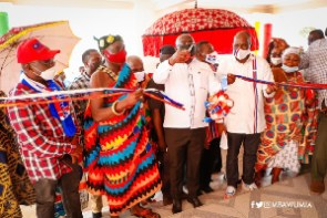 Vice President Bawumia commissioned an Assembly complex as part of his tour of the Ashanti Region
