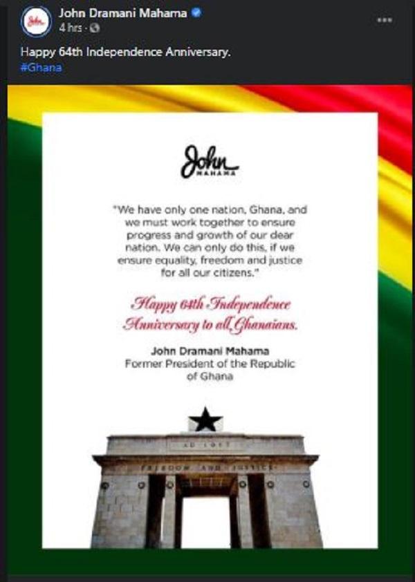 Let's work together to build Ghana – Mahama 2