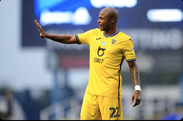 Andre Ayew wants to do more than just score goals for Swansea City