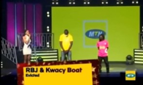 Kwacy Boat, RBJ have been evicted from the show