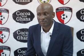 WAFA coach, Prosper Narteh