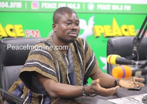 Head of Operations at the Forestry Commission, Charles Owusu