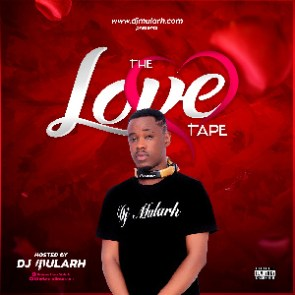 DJ Mularh on the cover of his LoveTape