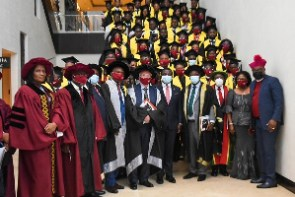 Congregants of the 11th Congregation of ABS and management