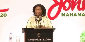 Vice Presidential Candidate of the NDC, Professor Naana Jane Opoku-Agyemang