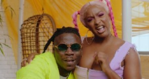 Cuppy and Stonebwoy have unveiled the official video for their collaborative single 'Karma'
