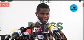 Sammy Gyamfi, National Communications Officer, NDC