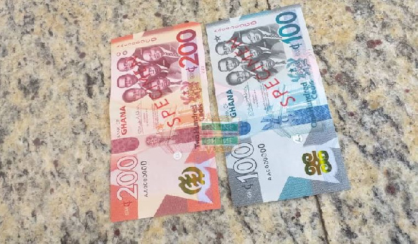 The Finance Minister has told Parliament that $8.9 million was spent to print the new ¢100 and ¢200 notes.